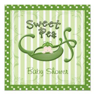 Custom Sweet Pea Invitation