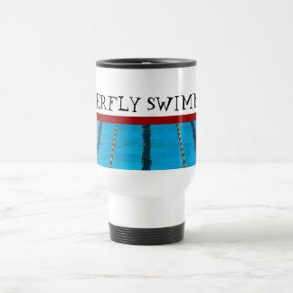 Custom Swimming Travel Mug