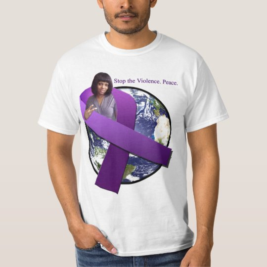 Custom T-Shirt (Domestic Violence Prevention)