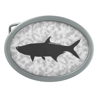Custom Tarpon template Belt Buckles