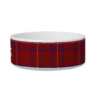 Custom Tartan Plaid Pet Bowl
