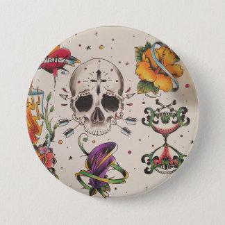 custom tattoo flash button