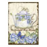 Custom Tea Coffee Shoppe Elegant Business Cards