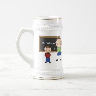 Custom Teacher Gift Beer Steins