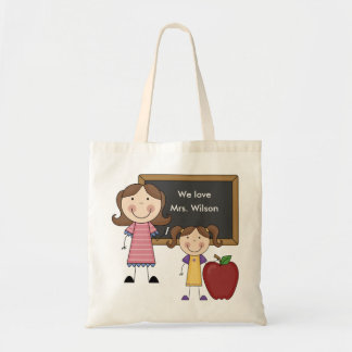 Custom Teacher Gift Canvas Bag