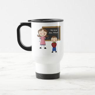 Custom Teacher Gift 15 Oz Stainless Steel Travel Mug