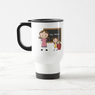 Custom Teacher Gift Stainless Steel Travel Mug