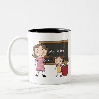 Custom Teacher Gift Two-Tone Mug