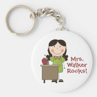 Custom Teacher Keychain