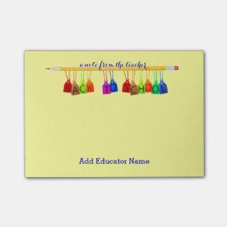 Custom Teacher Post-it® Notes