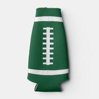 Custom Team Color & Name Football Bottle Sleeve Bottle Cooler