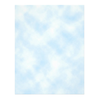 Custom Template: Blue Sky With Clouds Flyers