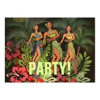 Custom Template Hawaii Art Print Invitation Party