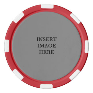 Custom Template to Make Your Own Poker Chip Set