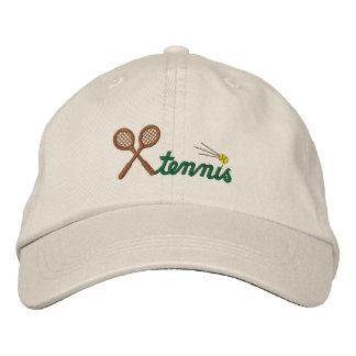 Custom Tennis Embroidered Hat