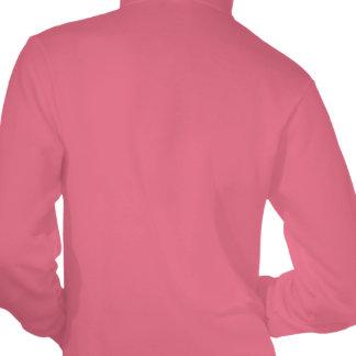 Custom tennis team apparel for women hooded pullover