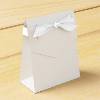 Custom Tent Favour Box (White Ribbon)
