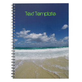 Custom Text | Bahamas | Beach Notebook
