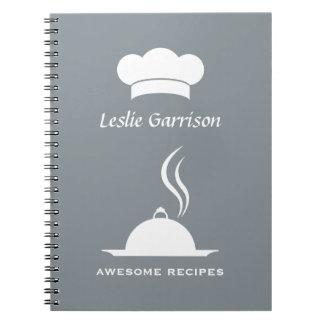 Custom Text & Color recipe notebook