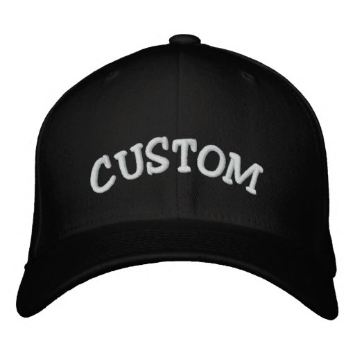 CUSTOM Text Hat Embroidered Baseball Caps