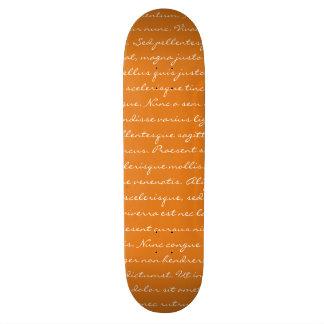 Custom Text Skate Board Decks
