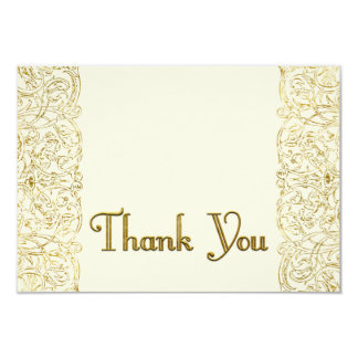 Custom Thank You 2 Shelley 9 Cm X 13 Cm Invitation Card