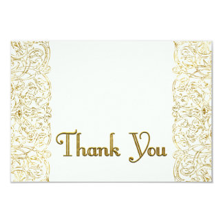 Custom Thank You Shelley 9 Cm X 13 Cm Invitation Card