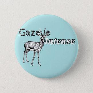 Custom the Color! Gazelle Intense Motivational 6 Cm Round Badge