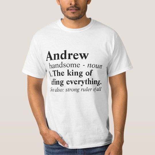 Custom The King of Effing Everything T-Shirt