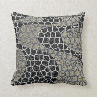 Custom Throw pillow/ Mosaic effect Cushion