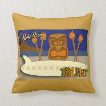 Custom Tiki Bar Sign Cushion