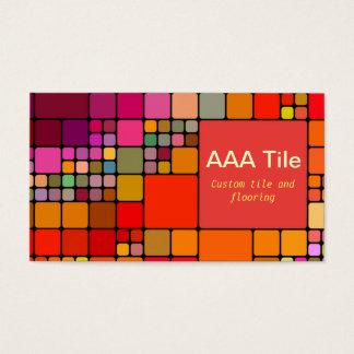Custom Tile and Flooring Retro Mosaic Pattern