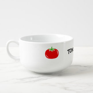 Custom tomato soup bowls and mugs