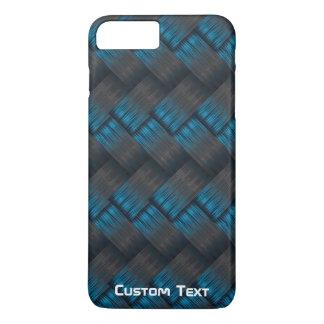 Custom Tough Carbon Fibre Weave Texture iPhone 7 Plus Case