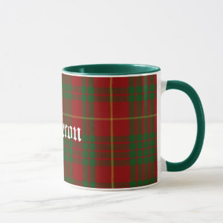 Custom Traditional Cameron Tartan Plaid Mug