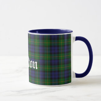 Custom Traditional Gordon Tartan Plaid Mug