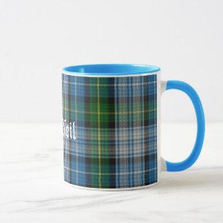 Custom Traditional MacNeil Tartan Plaid Mug