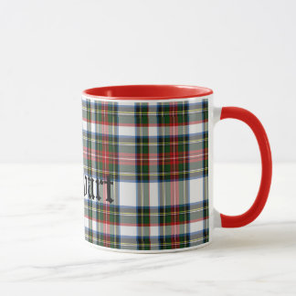 Custom Traditional Stewart Tartan Plaid Mug