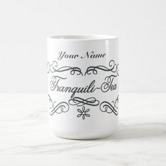 Custom Tranquili-Tea Basic White Mug