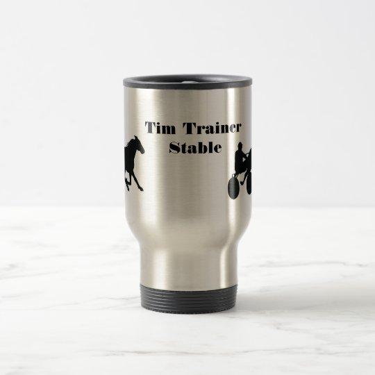 Custom Travel Harness Racing Mug