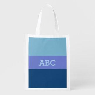 Custom Tri-Color reusable bag