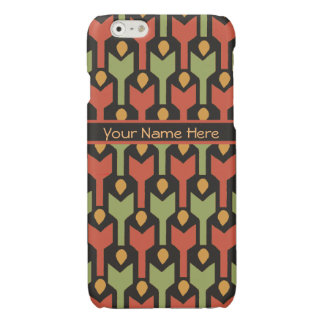 Custom Tribal Egyptian Red Green Arrow Pattern iPhone 6 Plus Case