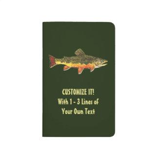 Custom Trout Fisherman's Journals