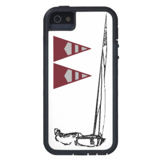 Custom Two-Burgee Phone Case Tough Xtreme iPhone 5 Case