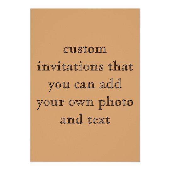 Custom Two Sided Invitation