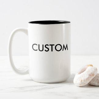 Custom Two-Tone Large 15oz Mug - BLACK Inside