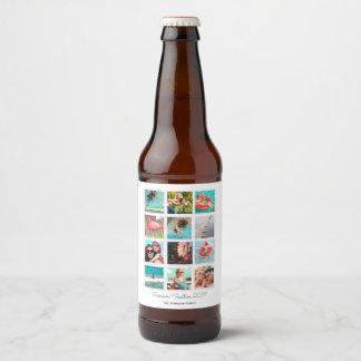 Custom Vacation Overview | Instagram | Beer Label