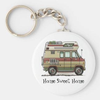 Custom Van Camper RV Keychain HSH