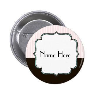 Custom Vintage Style French Theme 6 Cm Round Badge