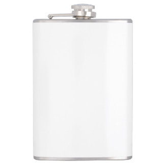 Custom Vinyl Wrapped Flask - 8 oz.